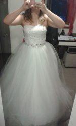 Svatební šaty z Aliexpress- již k prodeji