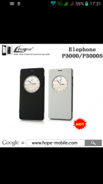 Flipove pouzdro elephone p3000s