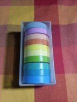 Barevné lepící pásky